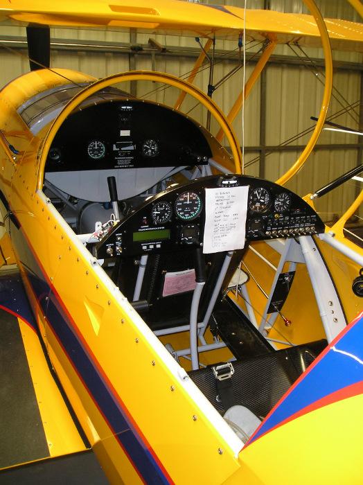 Model 12 Cockpit